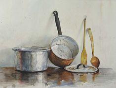 Watercolor Paintings By Bulgarian Artist Atanas Matsoureff - Fine Art Blogger