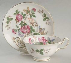 Wedgwood Charnwood (Bone) Footed Cream Soup Bowl