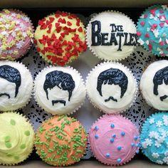 Beatles_cupcakes