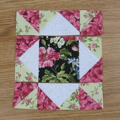 Quilt square patterns - Mother's Choice Traditional Quilt Block Pattern – Quilt square patterns Quilt Square Patterns, Beginner Quilt Patterns, Patchwork Quilt Patterns, Quilting For Beginners, Quilt Patterns Free, Quilting Tutorials, Square Quilt, Pattern Blocks, Quilting Projects