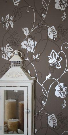 Vliesbehang bloemmotief 2084-3 bij Behangwebshop