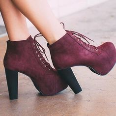 Search: 'Rosa Booties - Burgundy'  ✨On sale for $20.99✨  #lovepriceless @shoppriceless  ShopPriceless.com