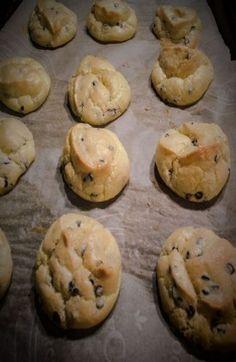 Cloud bread chocolate chip cookies
