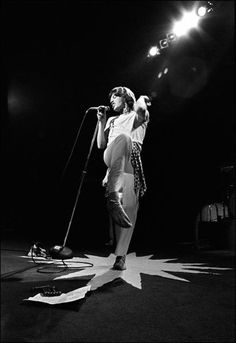 Mick Jagger Workout: find a 10+ min video on youtube of mick jagger dancing and mimic all the moves.    Advanced: put some stones on, strip down to your skivvies and bust out the jagger moves for an hour.