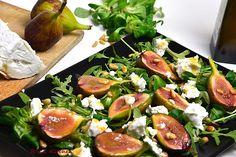 R'n'G Kitchen: Sałatka z karmelizowanymi figami i kozim serem
