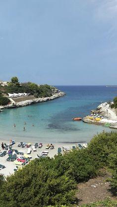Le Cale d'Otranto : la spiaggia