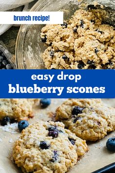 Here's a delicious vintage holiday recipe - just like Grandma used to make and perfect for your Christmas morning breakfast. his is the easiest drop scone recipe! These BIG scones are tender, craggy, and a little crumbly.