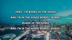 Mood Songs, Music Mood, Newspaper Wallpaper, Ariana Grande Music Videos, Am Bored, House Quotes, Tyga, Picture Quotes, Lyrics