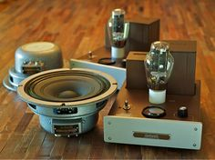 This Is A Motorola Model Hs 696c Stereo Push Pull Tube