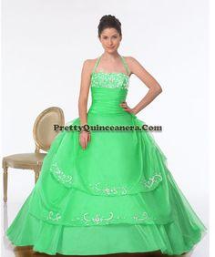2010 Winter quinceanera dress,Ball gown halter quinceanera gown 15386-6,discount designer quinceanera ball gowns,Sleevless strapless elegant quinceanera gown.