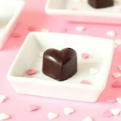 Healthy Peanut Butter Chocolate Fudge -     6 tablespoons refined coconut oil, 1/2 cup natural peanut butter, 1/2 cup + 2 tablespoons Dutch-process cocoa powder, 1/4 cup (80 grams) honey. Melt all except the honey in a pan.  Add honey and pour into molds.  Set in the refrigerator.