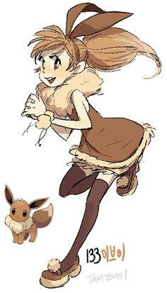 Un artiste transforme avec talent les Pokémon en humains - page 3