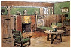 3 Astonishing Tips: Charcoal Painted Fireplace fireplace tile diy.Fireplace And Tv Ship Lap fireplace design kitchen backsplash. Faux Fireplace Mantels, Cottage Fireplace, Inglenook Fireplace, Candles In Fireplace, Fireplace Garden, Fireplace Bookshelves, Paint Fireplace, Fireplace Cover, Shiplap Fireplace