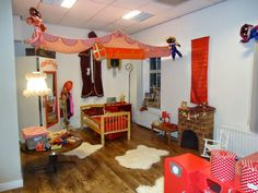 MAM's kinderopvang 2011-11-13 spelen in de sinterklaashoek jachtlaan - MAM's kinderopvang