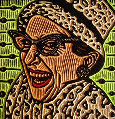 Alberta artist Lisa Brawn, Andrea Martin woodcut 2009 via magpie & whiskeyjack Painting Lessons, Art Lessons, High School Art Projects, Sculpture Projects, Canadian Artists, Print Artist, Portrait Art, Figurative Art, Saatchi Art