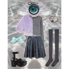 """""""mirror"""" by spacegrunge on Polyvore"""