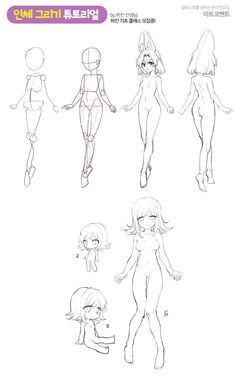 💪인체 그리기 튜토리얼 by 하진 선생님💪  인체 도형화부터, SD/LD 등 등신별 캐릭터 튜토리얼입니다! 도형화를 통해서 인체를 간단히 보는 법을 알고, 다양한 데포르메로 캐릭터를 그려봅시다! Human Body Drawing, Human Anatomy Drawing, Female Drawing, Human Figure Drawing, Figure Sketching, Digital Painting Tutorials, Digital Art Tutorial, Art Tutorials, Art Drawings Sketches