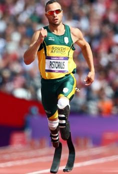 Oscar Pistorius: what an inspiration to us all!
