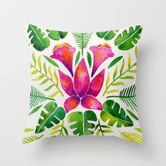 Tropical Symmetry – Pink & Green Throw Pillow$20.00 https://society6.com/product/tropical-symmetry--pink--green_pillow?curator=2tanduk
