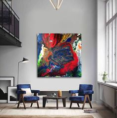 fluid painting, original abstract, abstract, art, Acrylic, picture, draw, painting, fluid, artwork