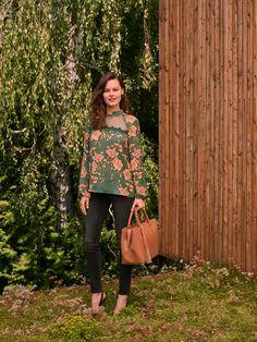 34 Best Floral Inspiration images | Sukienka asymetryczna