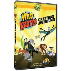 Join the adventures of Martin and Chris as they meet up with cool creatures from around the world and witness many never-before-seen wildlife moments. With their creature smarts plus their newly invented Creature Power Suits, the brothers Kratt are using amazing animal abilities to rescue their animal friends when they get into trouble.