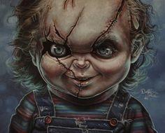 Chucky painting by gimgams
