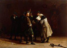 Jacobites, 1745 , painted 1874 by John Pettie (Scottish 1839–1893)