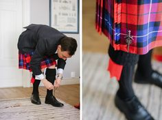 Scottish country wedding on the Finnish countryside. Scottish Wedding Traditions, Nordic Wedding, Real Weddings, Scotland, Groom, Country, Rural Area, Grooms, Country Music