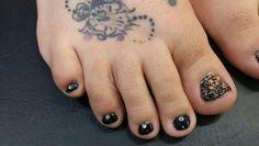 """Zazzy"" toes by ashley@salon707"
