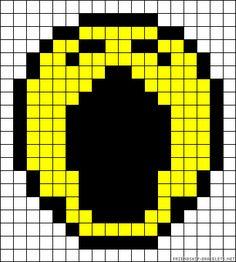 sandylandya@outlook.es  Smiley sad perler bead pattern