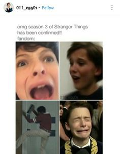 These pictures were all actually used on instagram by StrangerThingsTV