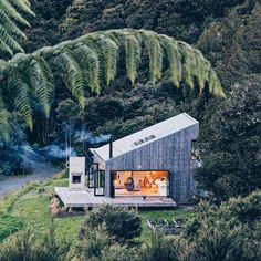 """16k Likes, 238 Comments - The Cool Hunter (@thecoolhunter_) on Instagram: """"Hideaway in the Puhoi Bush in New Zealand designed by LTD Architecture. #thecoolhunter"""""""