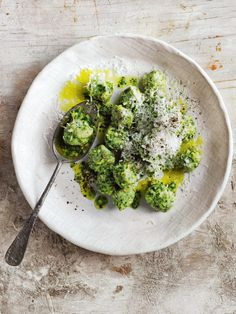 Kale Fennel And Smoked Almond Pesto Gnocchi | Donna Hay
