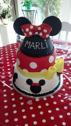 Children's Birthday Cakes - Minnie Mouse birthday cake