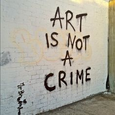 sure aint.. but people see it as crime