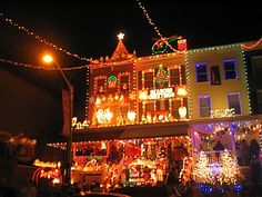 In Baltimore, Miracle on 34th Street Christmas Lights