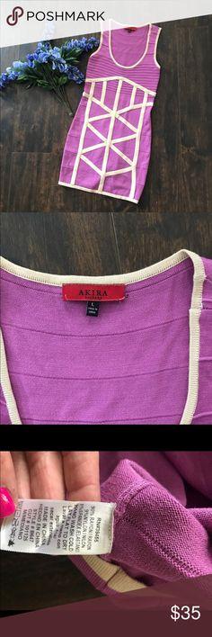 Akira Dress This is a thicker, almost sweater like material. Pet friendly, smoke free home. AKIRA Dresses Mini