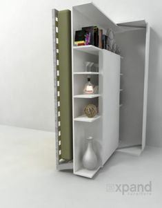 Inspiration Revolving Bookcase Wall Beds And Beds On on Home Decor Creative Hidden Bed With Shelves And Window Murphy Murphy Bunk Beds, Murphy Bed Desk, Modern Murphy Beds, Murphy Bed Plans, King Murphy Bed, Revolving Bookcase, Bookcase Wall, Modern Bookcase, Expand Furniture