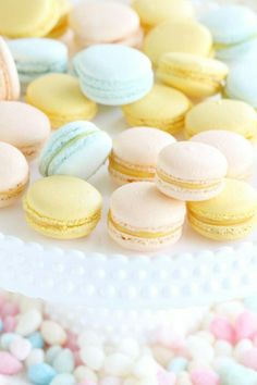 ♡ Cotton candy : Spring Pastel Treats. #Springspiration