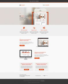 Instant - Business Responsive Email Template » Beautiful Email Newsletters