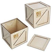 Коробочка-ящик из фанеры. Изготавливаем фанерную сувенирную упаковку на заказ – Стильная упаковка