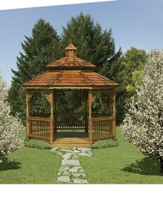 Wooden Gazebo - We delivery fully assembled gazebos throughout eastern Ontario and Quebec. Visit us online for fully price list ncsshelters.com