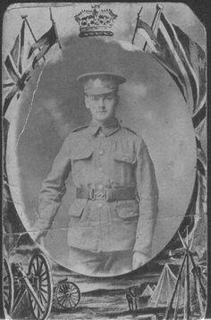 Burnley Roll of Honour Private Arthur Tyson