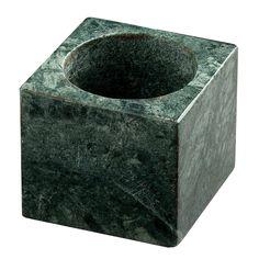 T-ljusstake, grön marmor i gruppen Inredningsdetaljer / Dekoration / Ljuslyktor & Ljusstakar hos RUM21.se (130552)