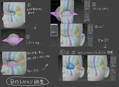 第1回:キャラクターモデリング ~まずは顔のモデルから~ | CharacterArpeggio~3ds Max 2017 キャラクター作成術~ | AREA JAPAN