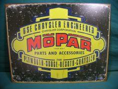 Vintage ih Signs | Vintage V8 Parts and Supply co. : Old School Mopar parts sign