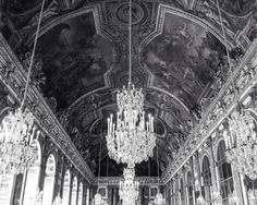 France Photography - Palace of Versailles - Château - Castle - Hall of Mirrors…