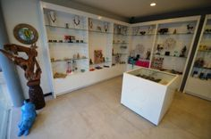 The cute store in our little spa...