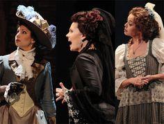 """Don Giovanni""  Barbara Frittoli, Marina Rebeka and Mojca Erdmann."